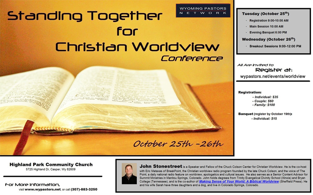 Standing Together for Christian Worldview